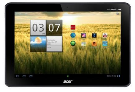 acer iconia tab a200 fronte