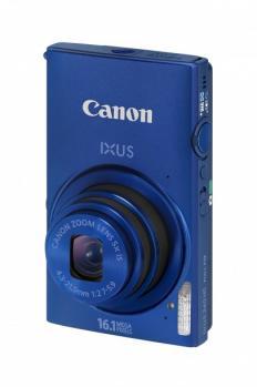 Canon IXUS 240 HS: vista frontale verticale blue