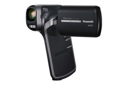 Panasonic HX-DC2: vista 3/4 frontale black