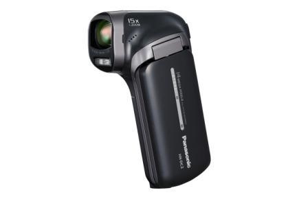 Panasonic HX-DC2: vista frontale black