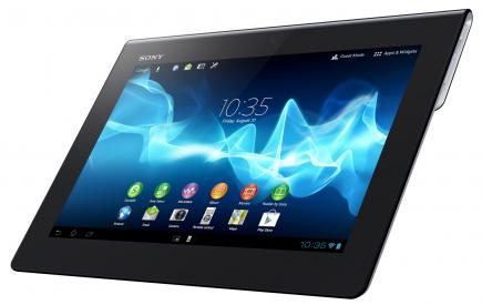sony xperia tablet s 3/4 sinistra