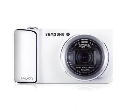 Samsung GALAXY Camera: vista frontale