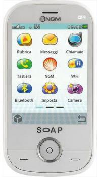 ngm soap evo fronte white