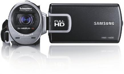 Samsung HMX-H400BP: vista frontale