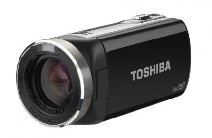 Toshiba Camileo X150: vista 3/4 frontale