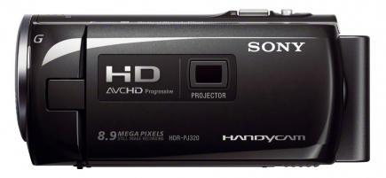sony hdr-pj320e profilo