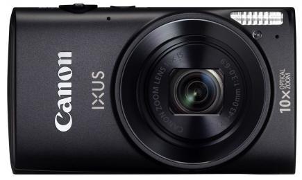 canon ixus 255 hs fronte nera