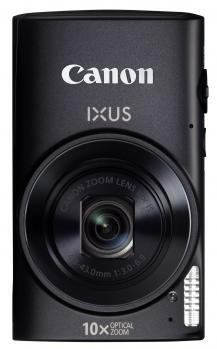 canon ixus 255 hs fronte verticale nero