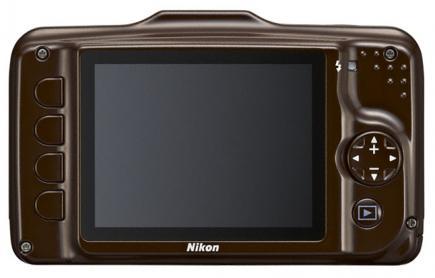 nikon coolpix s31 retro marrone