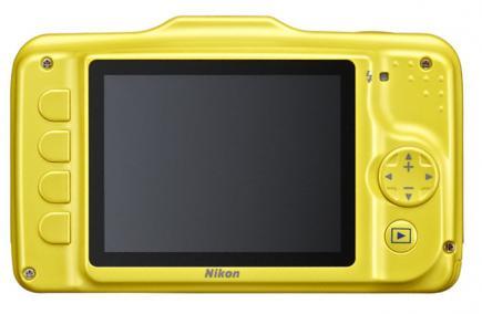 nikon coolpix s31 retro gialla