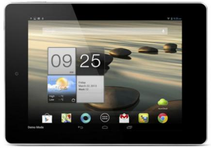 acer iconia tab a1-810 fronte