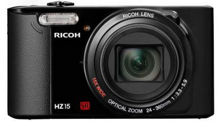 ricoh hz15 fronte