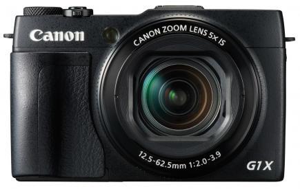canon powershot g1 x mark ii fronte