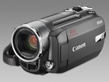 canon fs100 3/4 front