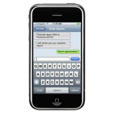 apple iphone con tastiera