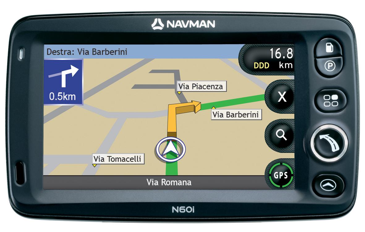 cartina navigatore navman