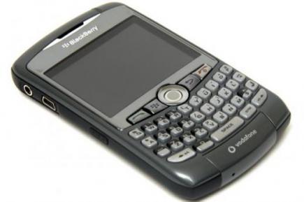 blackberry curve 8310 disteso