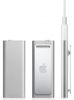 apple ipod shuffle 4gb silver