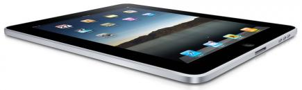 apple ipad fronte orizzontale