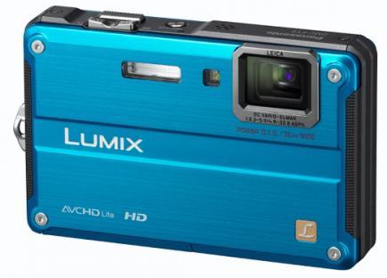panasonic lumix dmc-ft2 3/4 blue