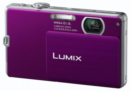 panasonic lumix dmc-fp3 3/4 purple