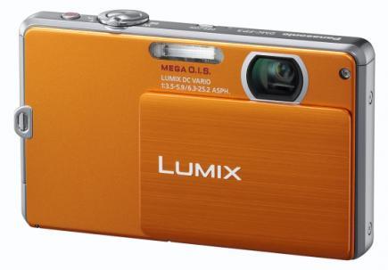panasonic lumix dmc-fp3 3/4 orange