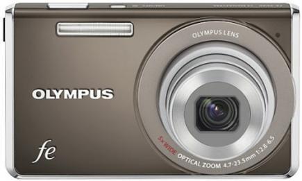 olympus fe-4040 fronte black