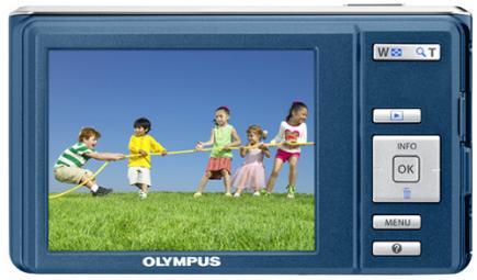 olympus fe-4040 retro blu