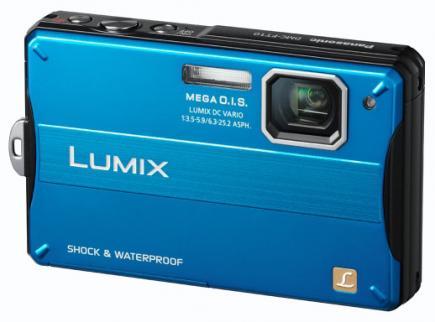panasonic lumix dmc-ft10 3/4 blue