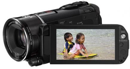 canon legria hf s200 3/4 LCD