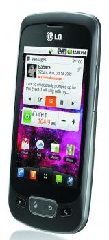 lg optimus one fronte