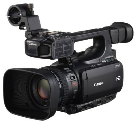 canon xf105 3/4 sinistra