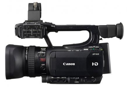 canon xf105 profilo