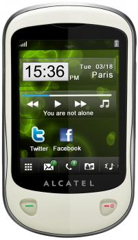 alcatel one touch 710d fronte chrome