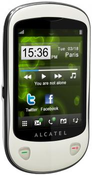 alcatel one touch 710d 3/4 destra chrome