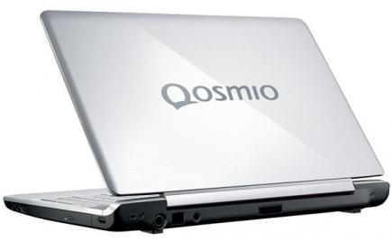 toshiba qosmio f750 3d fronte black
