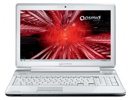 toshiba qosmio f750 3d retro red