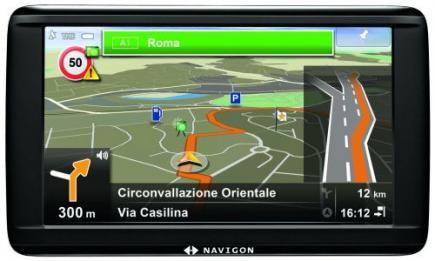 Navigon 72 Premium: Vista Frontale