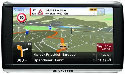Navigon 72 Premium: Vista Frontale 2