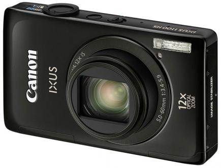 Canon IXUS 1100 HS: Vista Frontale 1
