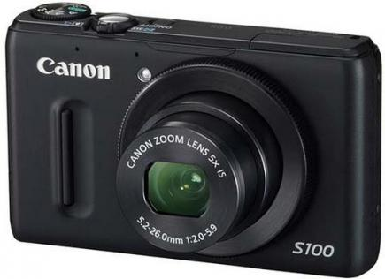 Canon PowerShot S100: Vista Frontale