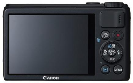 Canon PowerShot S100: Vista Posteriore