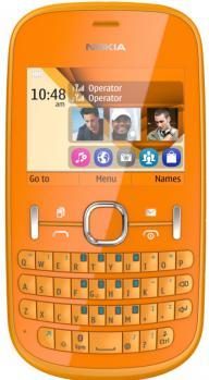 nokia asha 201 fronte orange