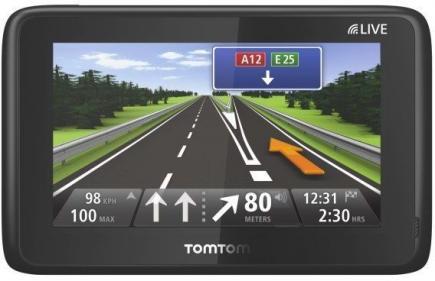 TomTom GO LIVE 1005 World: Vista Frontale