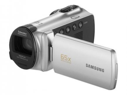Samsung SMX-F50SP: Vista 3/4 Frontale