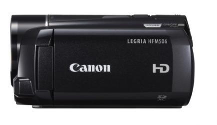 Canon LEGRIA HF M506: Vista Laterale