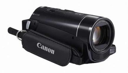 Canon LEGRIA HF M56: vista frontale