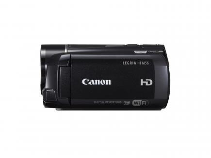 Canon LEGRIA HF M56: vista laterale