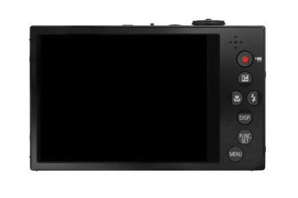 Canon IXUS 500 HS: vista posteriore black