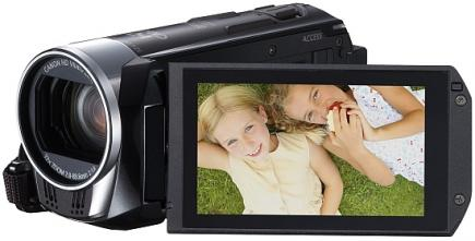 Canon LEGRIA HF R38: vista 3/4 display